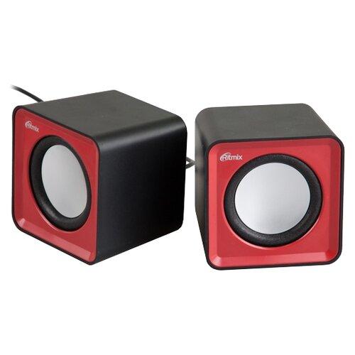 Компьютерная акустика Ritmix SP-2020 черный / красный