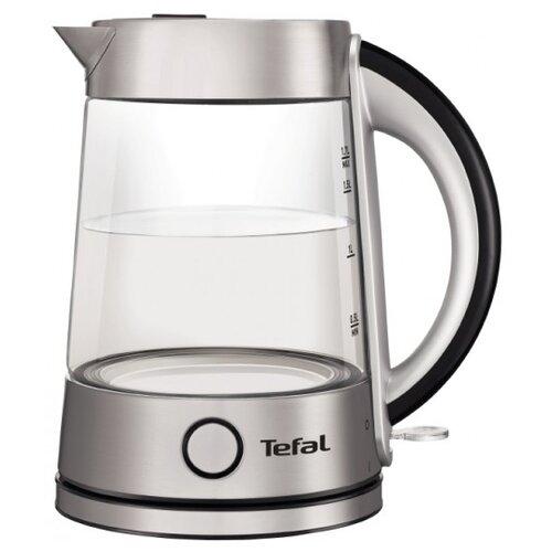 Чайник Tefal KI 760D, серебристый