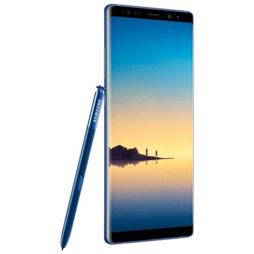 Купить со скидкой Смартфон Samsung Galaxy Note8 64GB синий сапфир