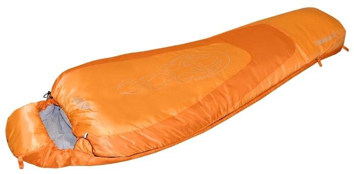 Спальный мешок Nova Tour «Сибирь XL V.2» (Оранжевый, Левая)