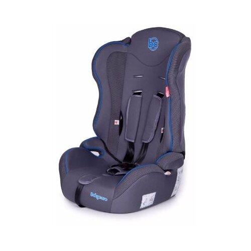 Автокресло группа 1/2/3 (9-36 кг) Baby Care Upiter, серый/синий автокресло группа 1 2 3 9 36 кг mr sandman safe road черный серый