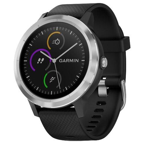Часы Garmin Vivoactive 3 серебристый/черный