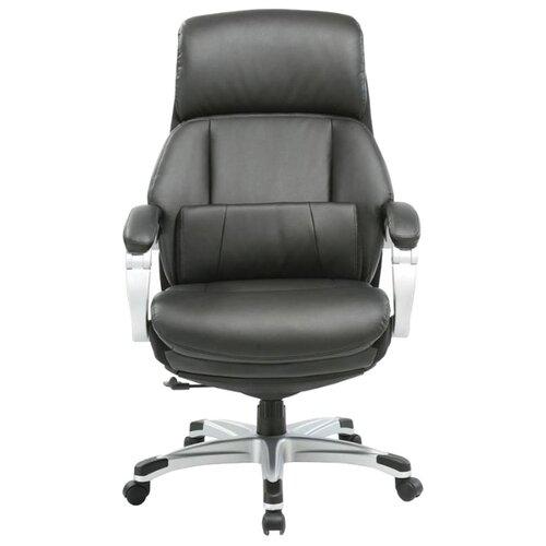 Компьютерное кресло Бюрократ Miro для руководителя, обивка: натуральная кожа, цвет: черный компьютерное кресло бюрократ t 9927walnut low для руководителя обивка натуральная кожа цвет черный