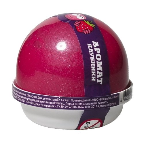 Жвачка для рук NanoGum с ароматом клубники 25 гр (NGAK25)Игрушки-антистресс<br>
