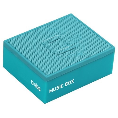 Портативная акустика SBS Music Box blue портативная акустика interstep sbs 110