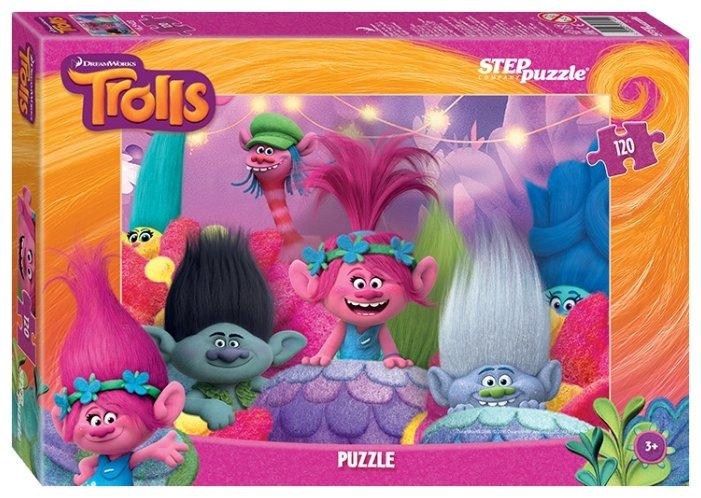 Пазл Step puzzle DreamWorks Trolls (75141) в ассортименте, 120 дет.