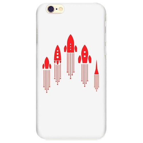 Купить Чехол Mitya Veselkov IP6.МITYA-131 для Apple iPhone 6/iPhone 6S ракеты