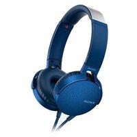 Наушники Sony MDR-XB550AP синий