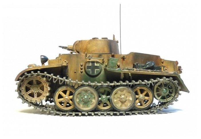Сборная модель Моделист Немецкий танк T-I F (303518) 1:35