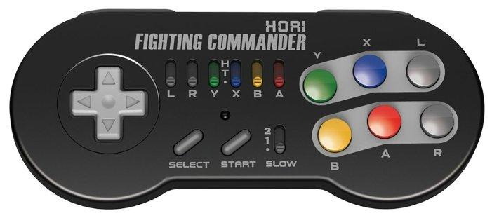 HORI Геймпад HORI Fighting Commander Wireless for Nintendo Classic Mini