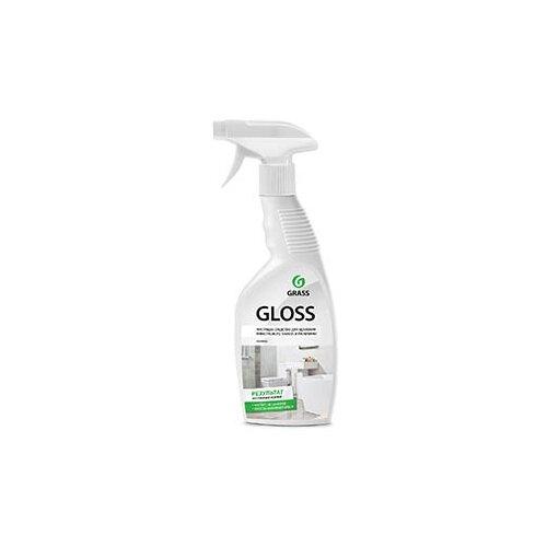 GraSS спрей для ванной комнаты Gloss 0.6 лДля кафеля, сантехники и труб<br>