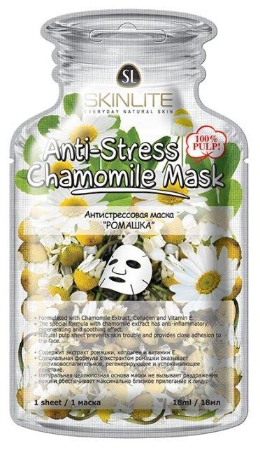 Skinlite антистрессовая маска Ромашка