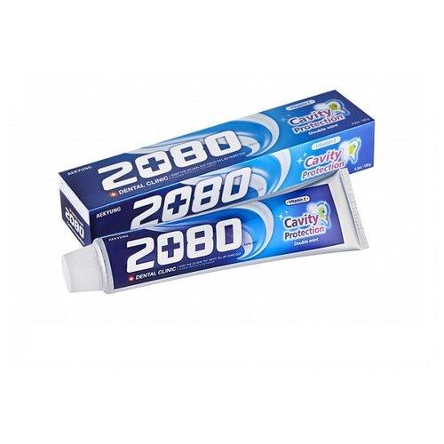 Зубная паста Dental Clinic 2080 Cavity Protection натуральная мята 120 гЗубная паста<br>