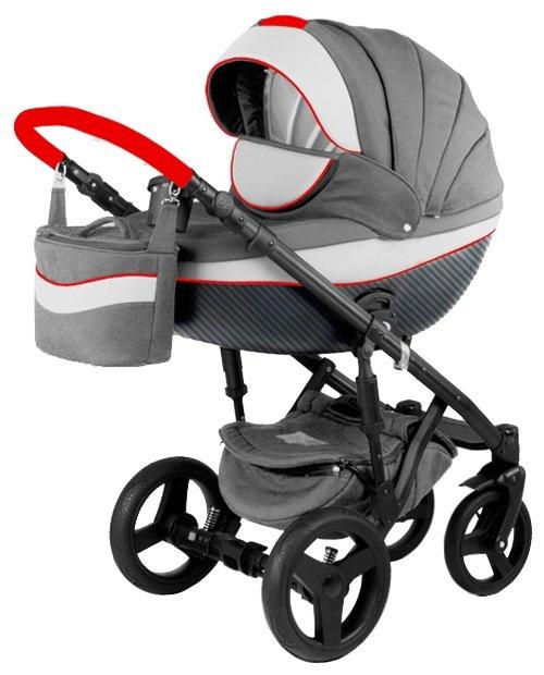 Детская коляска Adamex Monte Carbon 3 в 1