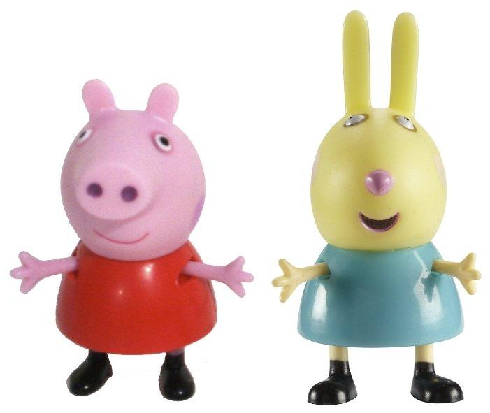 Игровой набор Peppa Pig Пеппа и Ребекка 2 предмета 28815
