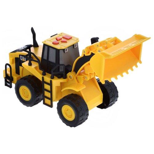 Погрузчик Toy State Колесный (34623TS-R) желтыйМашинки и техника<br>