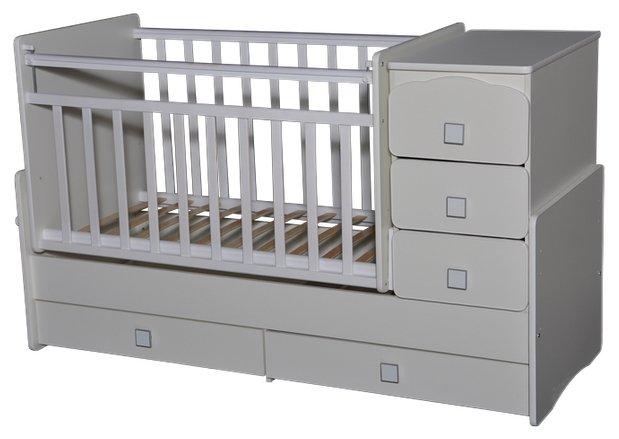 Кроватка Антел Ульяна-2 (трансформер)