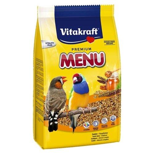 Vitakraft Корм для экзотических птиц Premium Menu 500 гКорма для птиц<br>