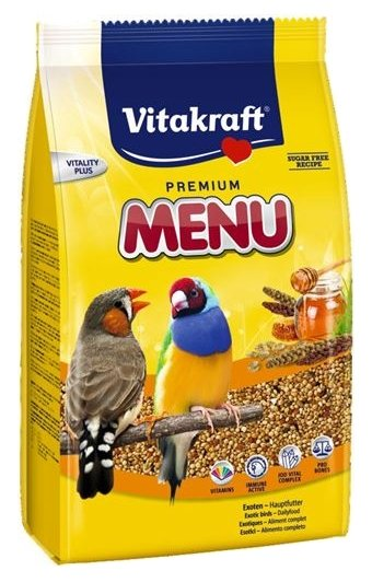 Vitakraft Корм для экзотических птиц Premium Menu