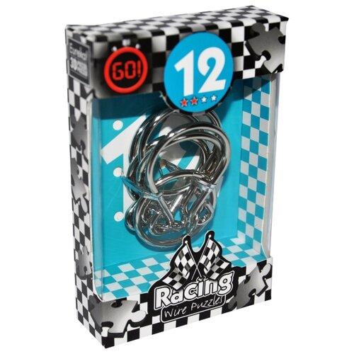 Купить Головоломка Eureka 3D Puzzle Racing Wire Puzzles 12 сложность 2 (473282) серый, Головоломки