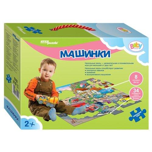 Пазл Step puzzle Baby Step Машинки (70102), 42 дет. пазл step puzzle park