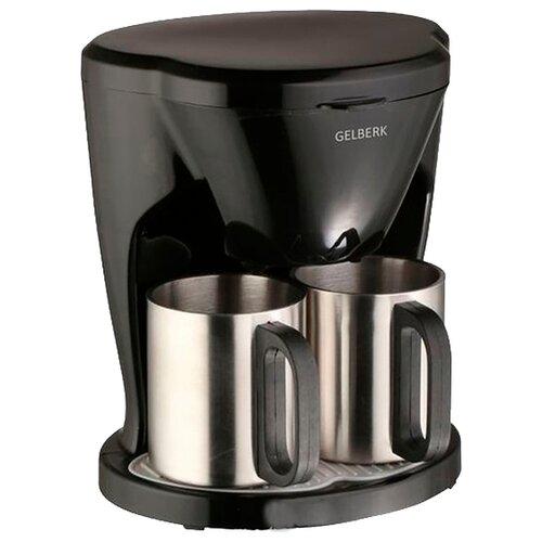 Кофеварка Gelberk GL-540 черный