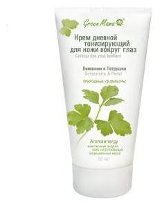 GREEN MAMA Крем дневной тонизирующий для кожи