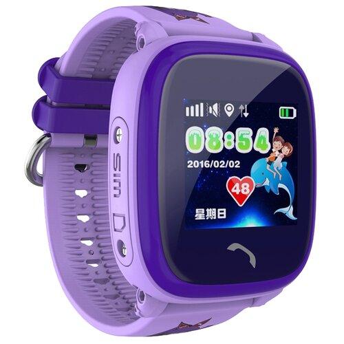 Детские умные часы Smart Baby Watch GW400S, фиолетовый детские умные часы smart baby watch q100 gw200s желтый