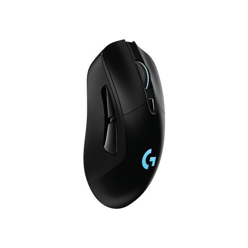 Беспроводная мышь Logitech G G703 LIGHTSPEED Black USB мышь logitech g g703 hero wireless gaming mouse black usb черный