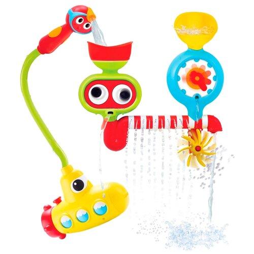 Купить Набор для ванной Yookidoo Подводная лодка и поливочная станция (40139) разноцветный, Игрушки для ванной
