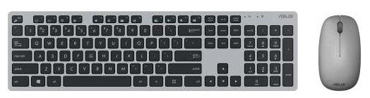 Клавиатура и мышь ASUS W5000 Grey USB