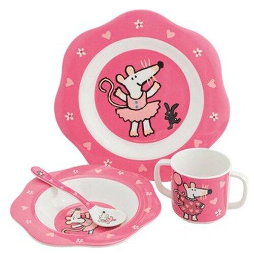 Фото - Комплект посуды Petit Jour Paris Mimi (MM901), розовый посуда petit jour набор детской посуды barbapapa ba964c
