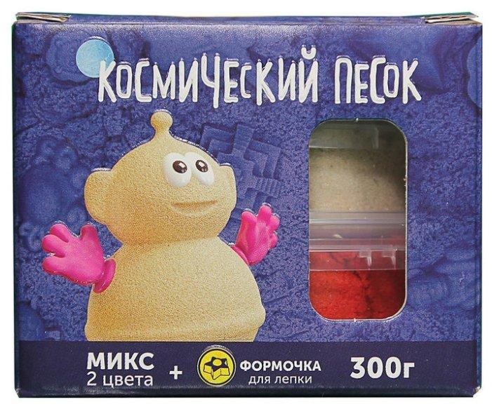 Набор для творчества Фабрика игрушек Микс (2*150 г) (песочный/красный) 0,3 кг