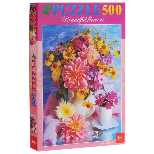 Купить Пазл Hatber Романтический букет (500ПЗ2_02480), 500 дет., Пазлы
