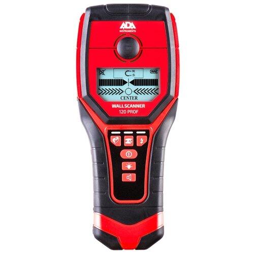 Детектор ADA instruments Wall Scanner 120 PROF детектор металла ada wall scanner 80 [а00466]
