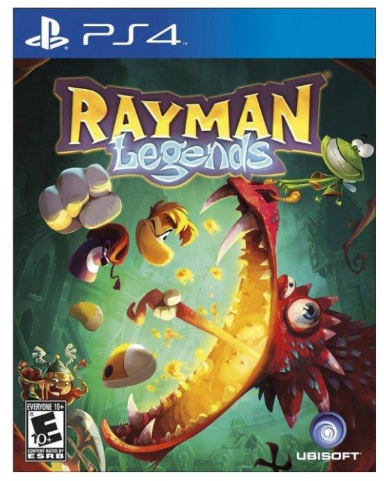 Игра для PlayStation 4 Rayman Legends, русские субтитры фото 1