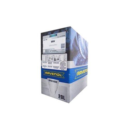 Синтетическое моторное масло Ravenol SSV SAE 0W-30 20 л моторное масло ravenol super synthetik öl ssl sae 0w 40 5 л