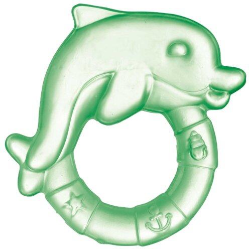 Прорезыватель Canpol Babies Дельфин 2/221 зеленый, Погремушки и прорезыватели  - купить со скидкой