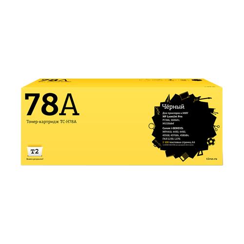 Фото - Картридж T2 TC-H78A, совместимый картридж t2 tc hcf411x совместимый