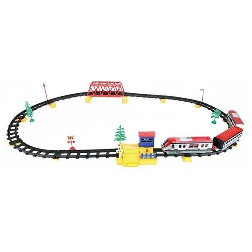 Фото - ABtoys Стартовый набор Экспресс, C-00200 (WB-A7300) abtoys стартовый набор железнодорожный переезд pt 01079