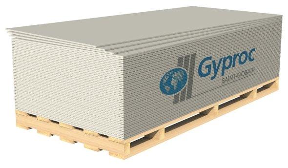 Гипсокартонный лист (ГКЛ) Gyproc Оптима 2700х1200х12.5мм