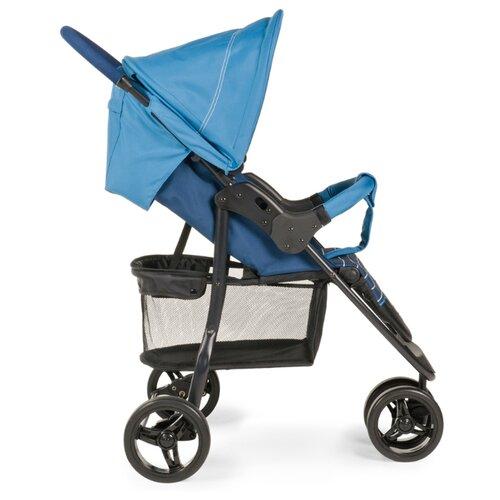 Прогулочная коляска Happy Baby Ultima marine/black frame, цвет шасси: черный