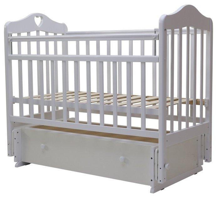 Кроватка Топотушки Оливия-7 (маятник универсальный)