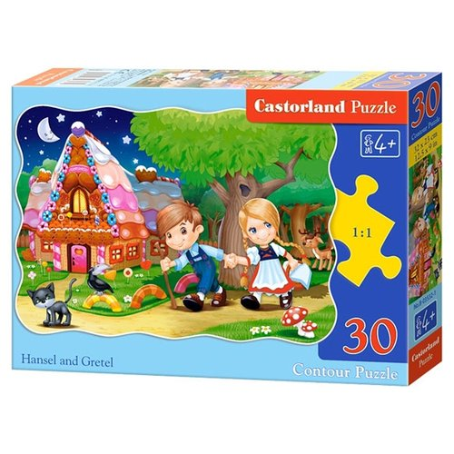 Пазл Castorland Hansel and Gretel (B-03532), 30 дет.