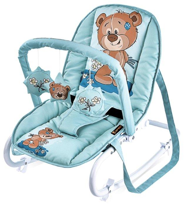 Детский шезлонг Lorelli Top Relax Green Cute Bear (10110021811)