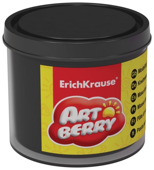 Пластилин ErichKrause Artberry черный на растительной основе 100 г (37044)