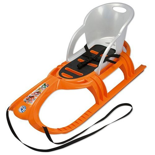 Санки KHW Snow Tiger Comfort (2940) оранжевый/серый/черный khw snow tiger de luxe orange page 1
