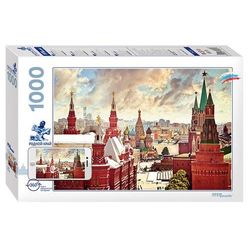 Купить Пазл Step puzzle Родной край Москва (79701), 1000 дет., Пазлы