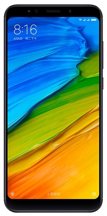 Смартфон XIAOMI Redmi 5 plus 64Gb, черный