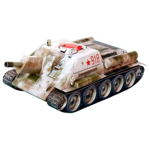 Купить Сборная модель Умная Бумага Самоходная артиллерийская установка СУ-122 (256) 1:35, Сборные модели